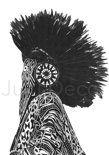 Illustration Print - Tribal Dancer