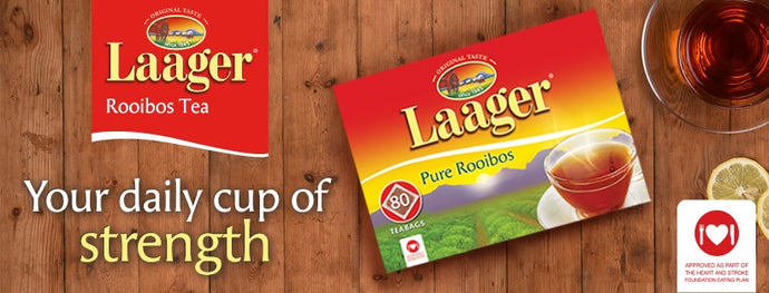 Get heart healthy this Heart Awareness Month with the Laager Rooibos Heart Health Challenge