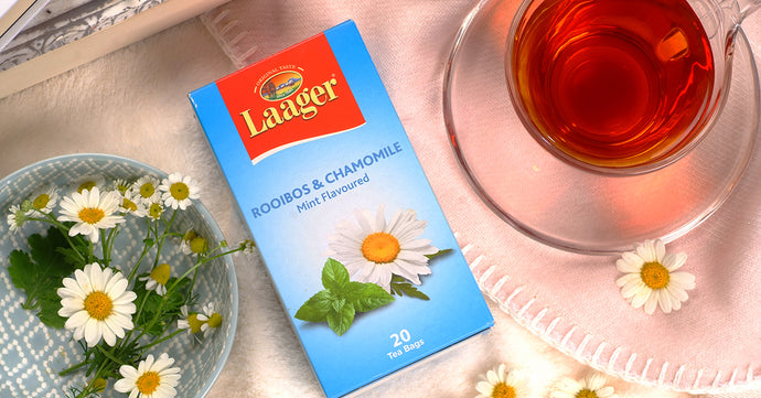 Laager's Rooibos Chamomile tea addresses health impact of Covid-19 stress