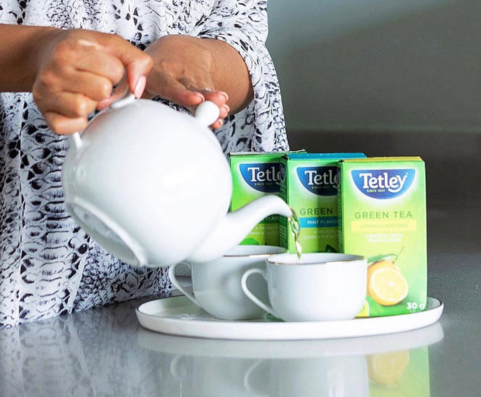 South Africans are enjoying the health benefits and enhanced flavours of Green tea in lockdown