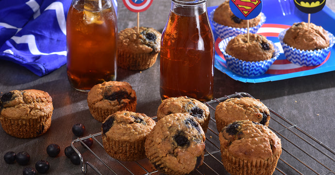 Blueberry Muffins – Low Sugar