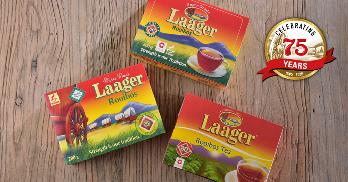 Laager Rooibos and  With Love From the Twins Enjoy double 75th celebration in 2020