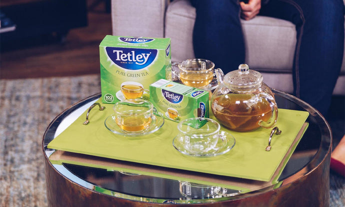 A healthy brew from Tetley