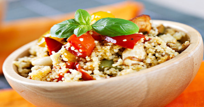 Laager Rooibos infused cous-cous