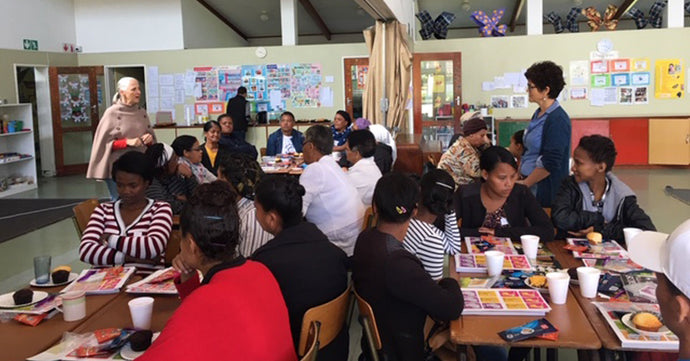Tea4Kidz ECD workshop empowers teachers, volunteers and social workers in Stellenbosch
