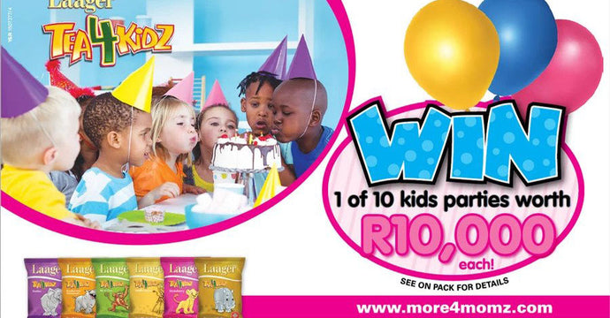 Tea4Kidz win a party