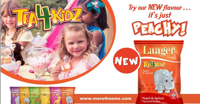 Tea4Kidz new Peach & Apricot flavour