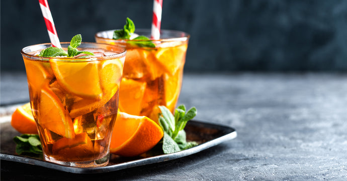 Rooibos with Citrus Iced Tea