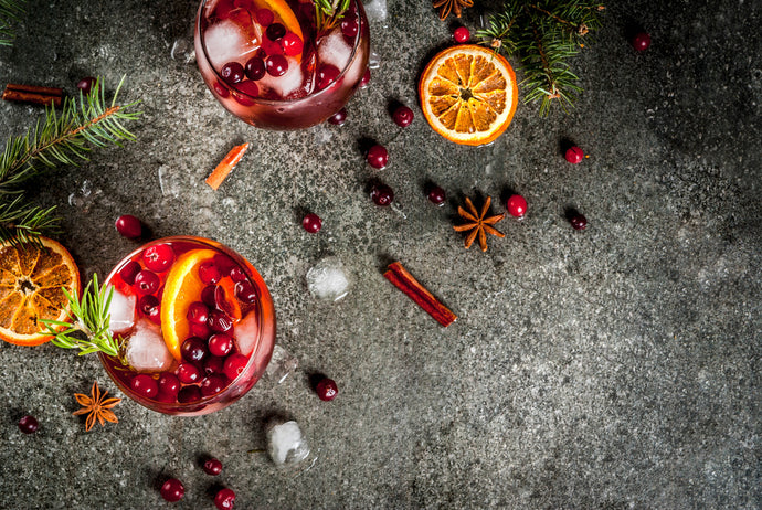 Cranberry Spice Hot Toddy Cocktail
