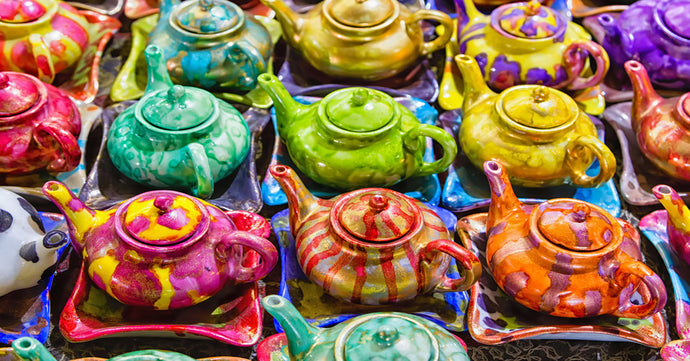 Painting Your Own Tea Pot