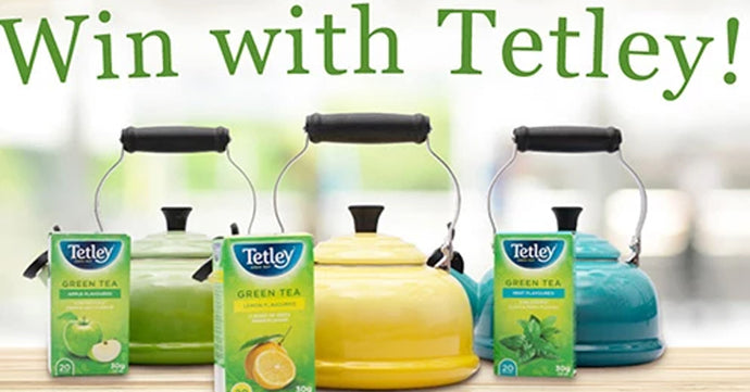 Stand a chance to win a tetley green hamper