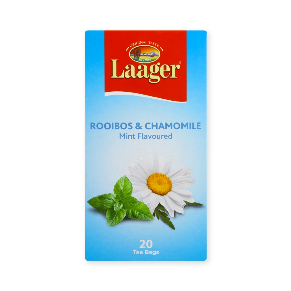 Laager Rooibos Chamomile & Mint 20's