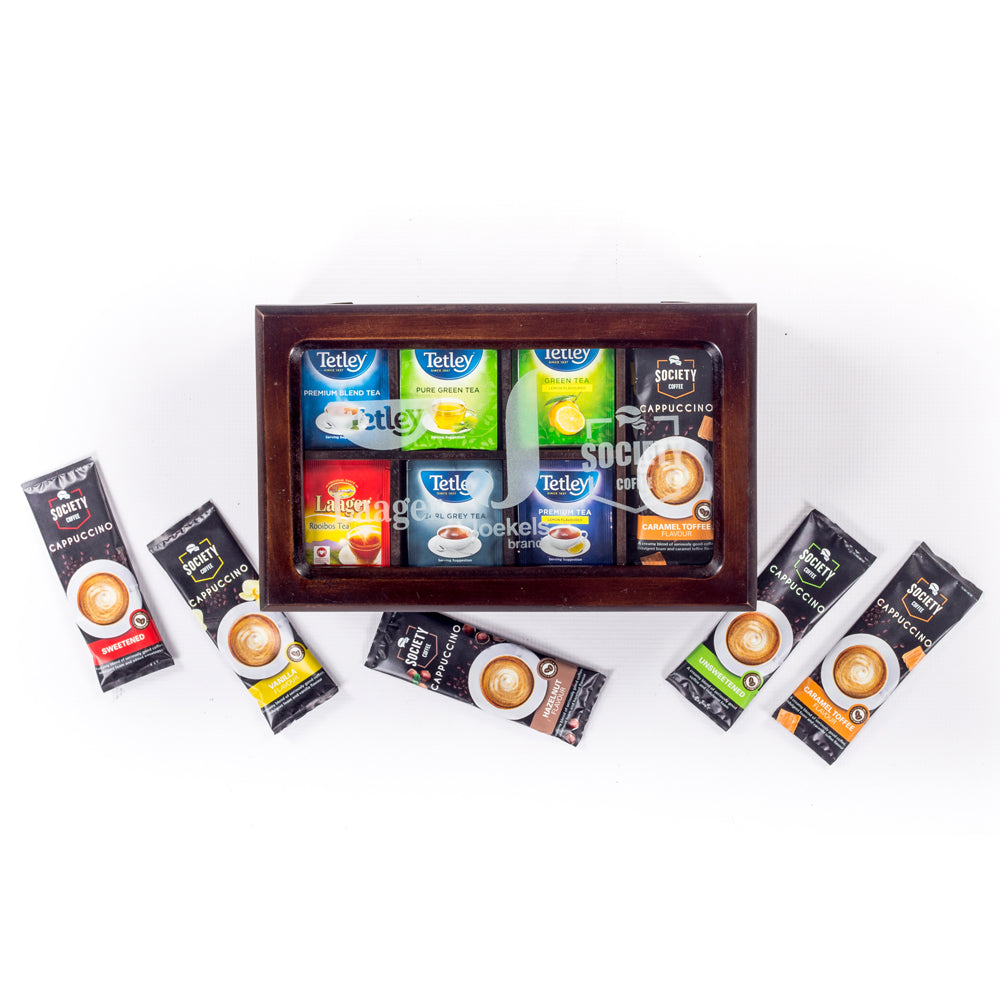 Impress Your Guests catering tea box