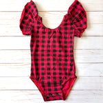 Buffalo Plaid Leotard