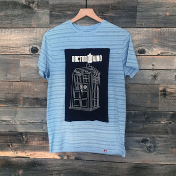 Dr. Who Striped Tee