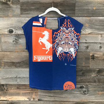 Bronco Dragon Twofer Tee