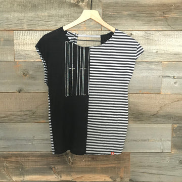 Vans Stripes Twofer Tee
