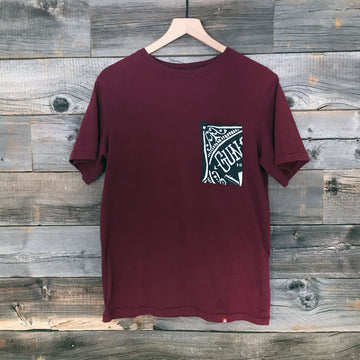 Skull Cali Men's Pocket Split Tee