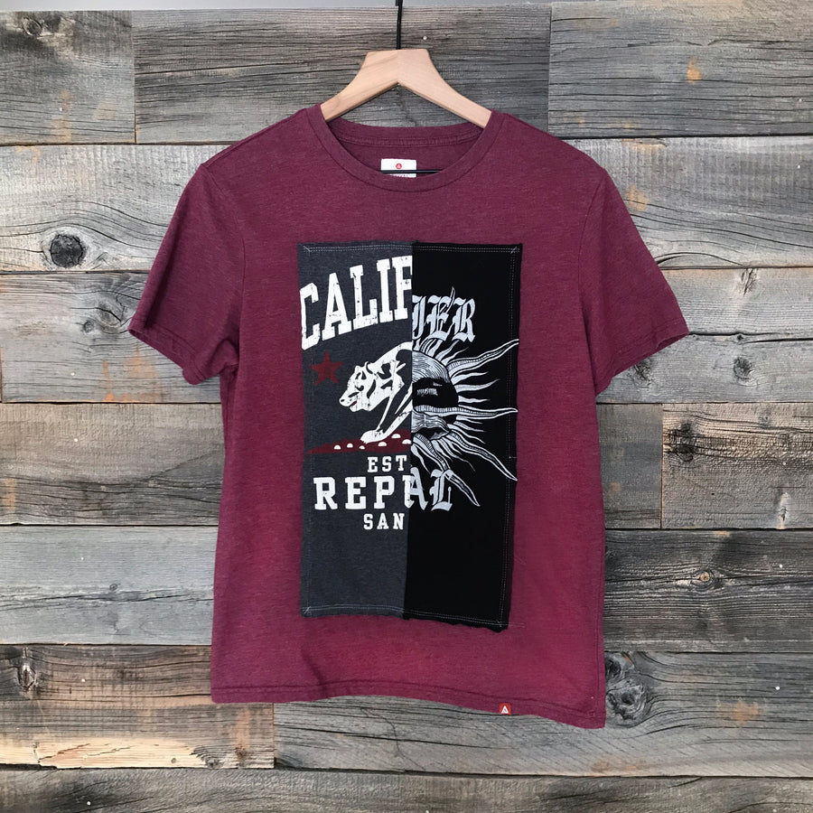 Cali Skull Men's Split Tee