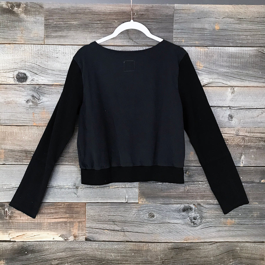Taco Cat + Alpine Long-Sleeve Crop