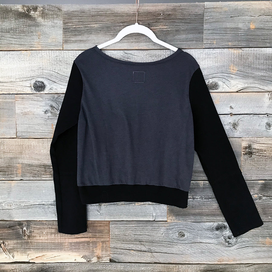Skull + Colorado Long-Sleeve Crop