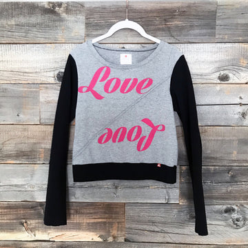 Love Long-Sleeve Crop