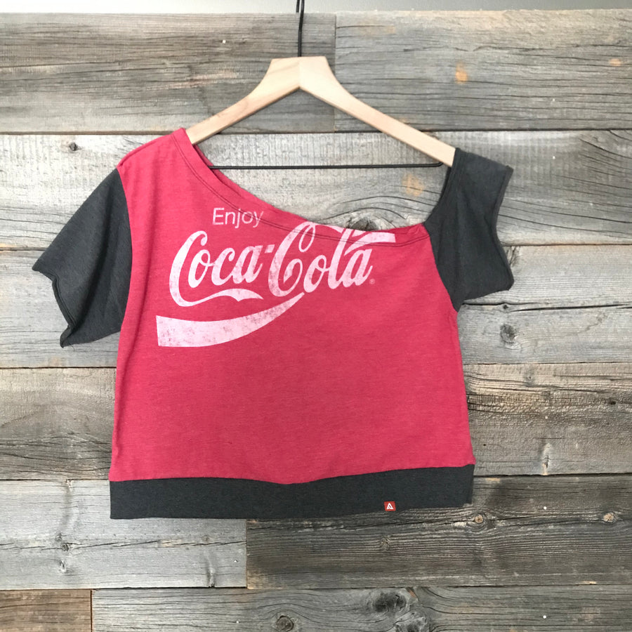 Coca Cola Summer Melt Crop Top