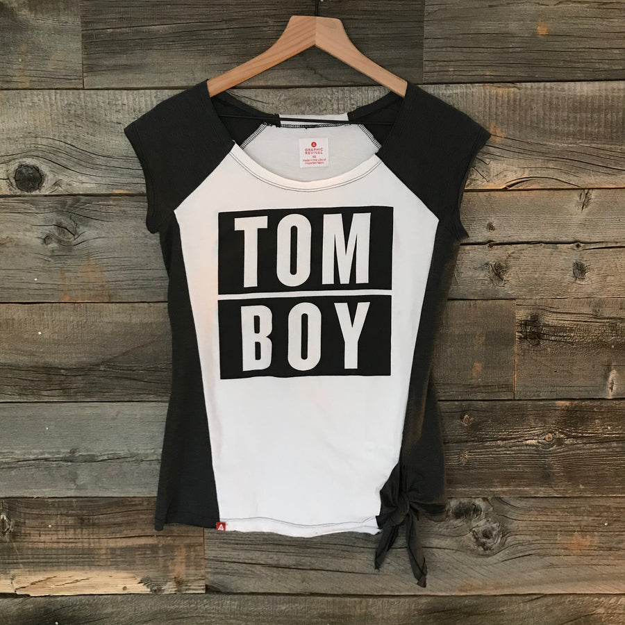 Tom Boy Diamond Tee