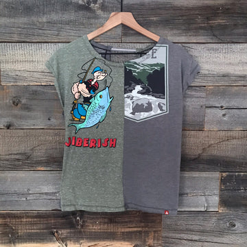 Fishing Popeye Twofer Tee