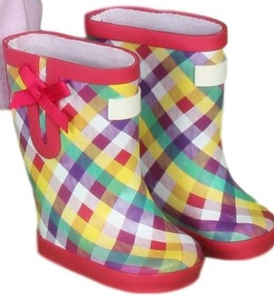 21  Plaid Galoshes
