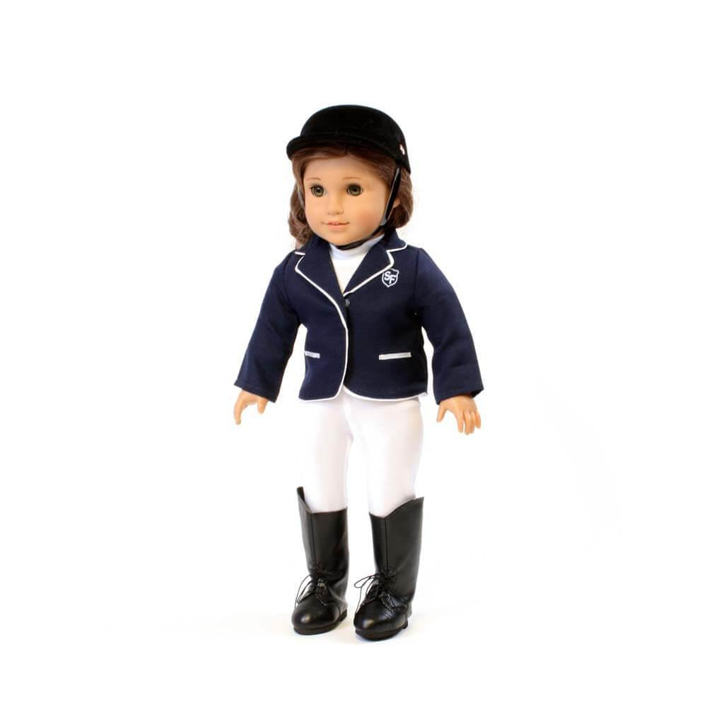 3 Piece Navy Riding outfit