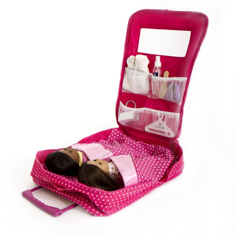 TWO DOLL TRAVEL BAG