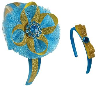 CINDERELLA INSPIRED GIRL AND DOLL MATCHING HAIRBANDS