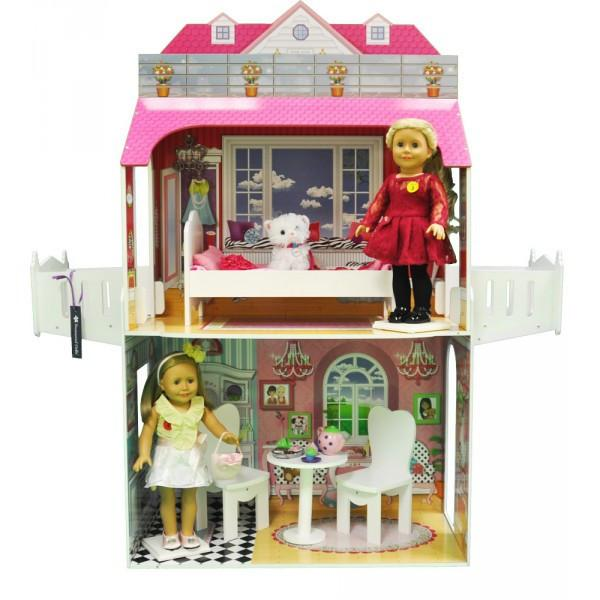 TWO STORY DOLL PLAY HOUSE