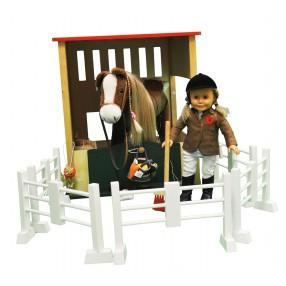 QUALITY WOODEN HORSE STABLE