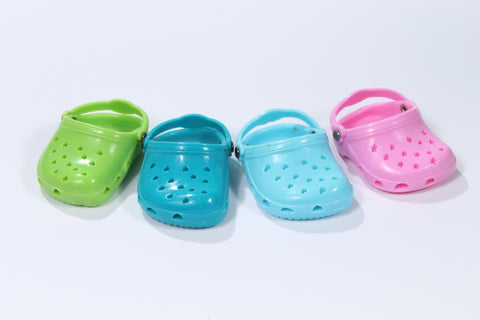 Crocs in Four Colors