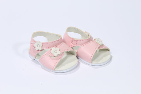 Pretty Pink Floral Accented Sandals
