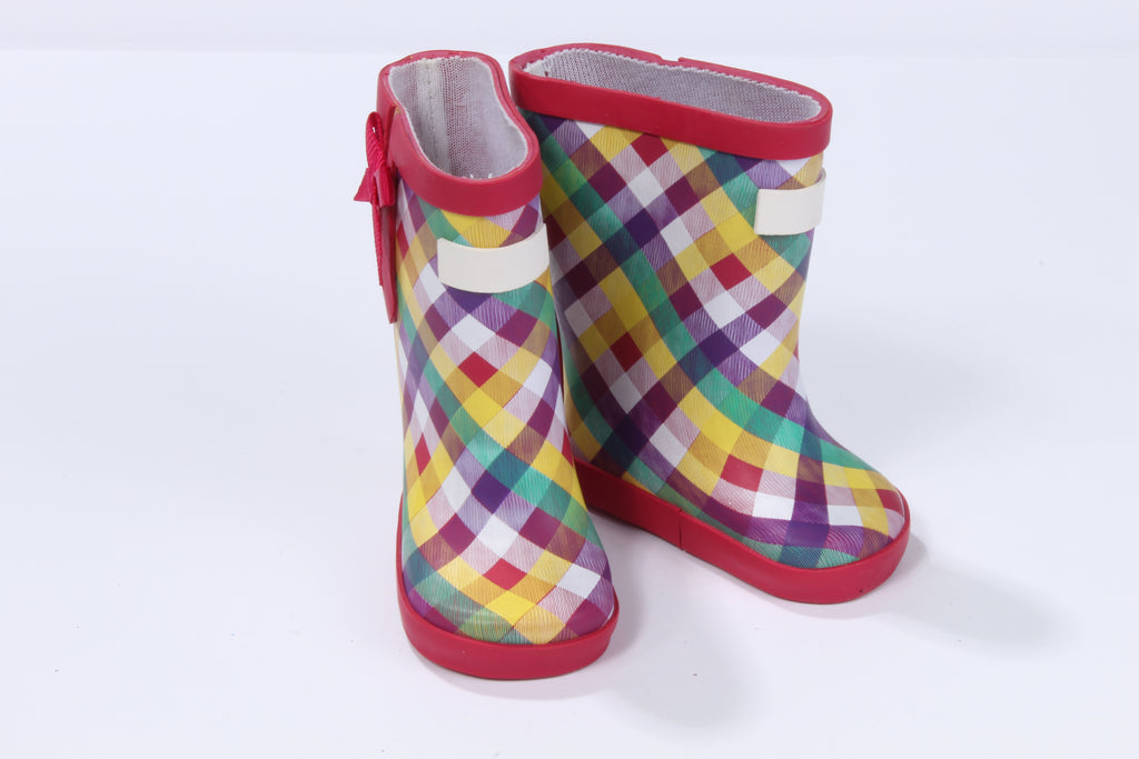 Plaid Galoshes
