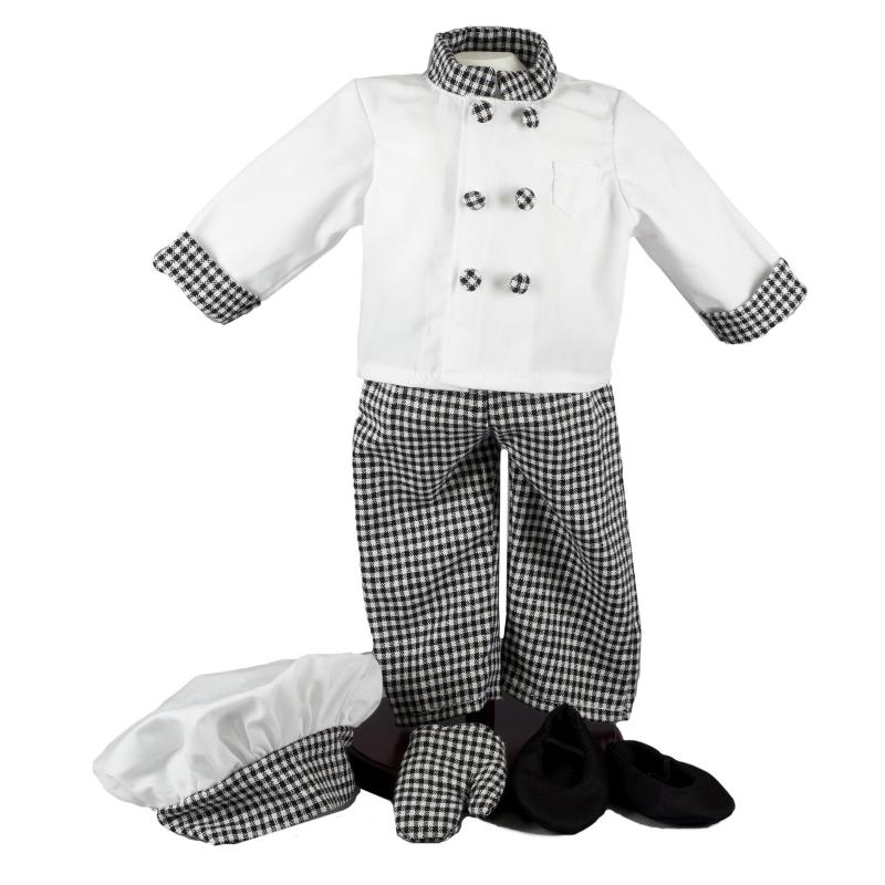 "Complete Chefs outfit for 18"" doll"