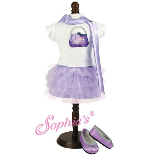 SUMMERS LAVENDER TUILLE OUTFIT