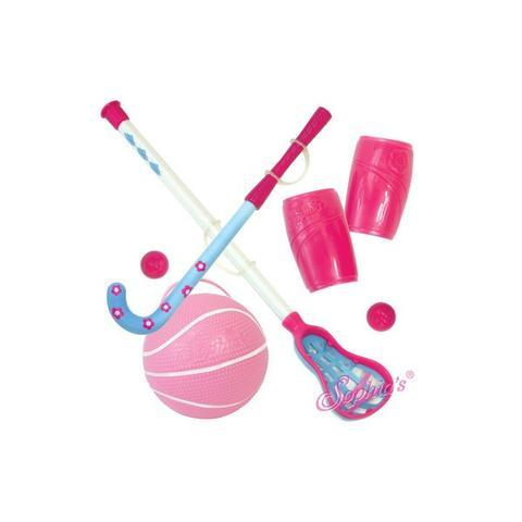 SPORTS DOLL GIFT SET