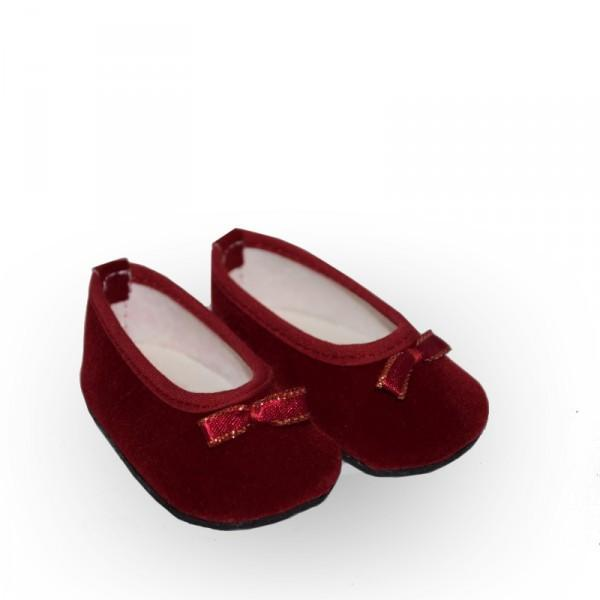 RED RUBY SLIP ON SHOES