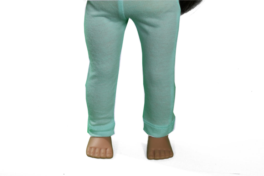 Light Aqua Leggings