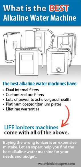 What is the best alkaline water machine
