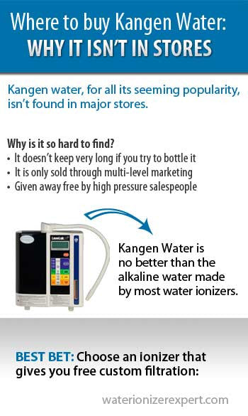Kangen Water Machine & Reasons Why It's Not Sold in Stores
