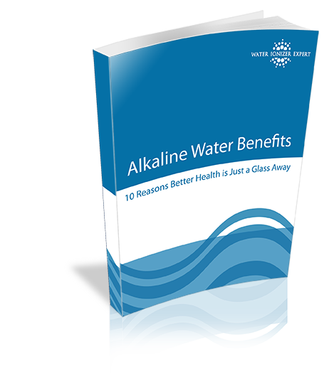 Alkaline Ionized Water Benefits Guide Cover