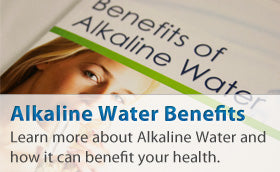 Alkaline Water Benefits: Learn more about Alkaline Water and how it can benefit your health.
