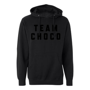Team Choco All Black Hoodie