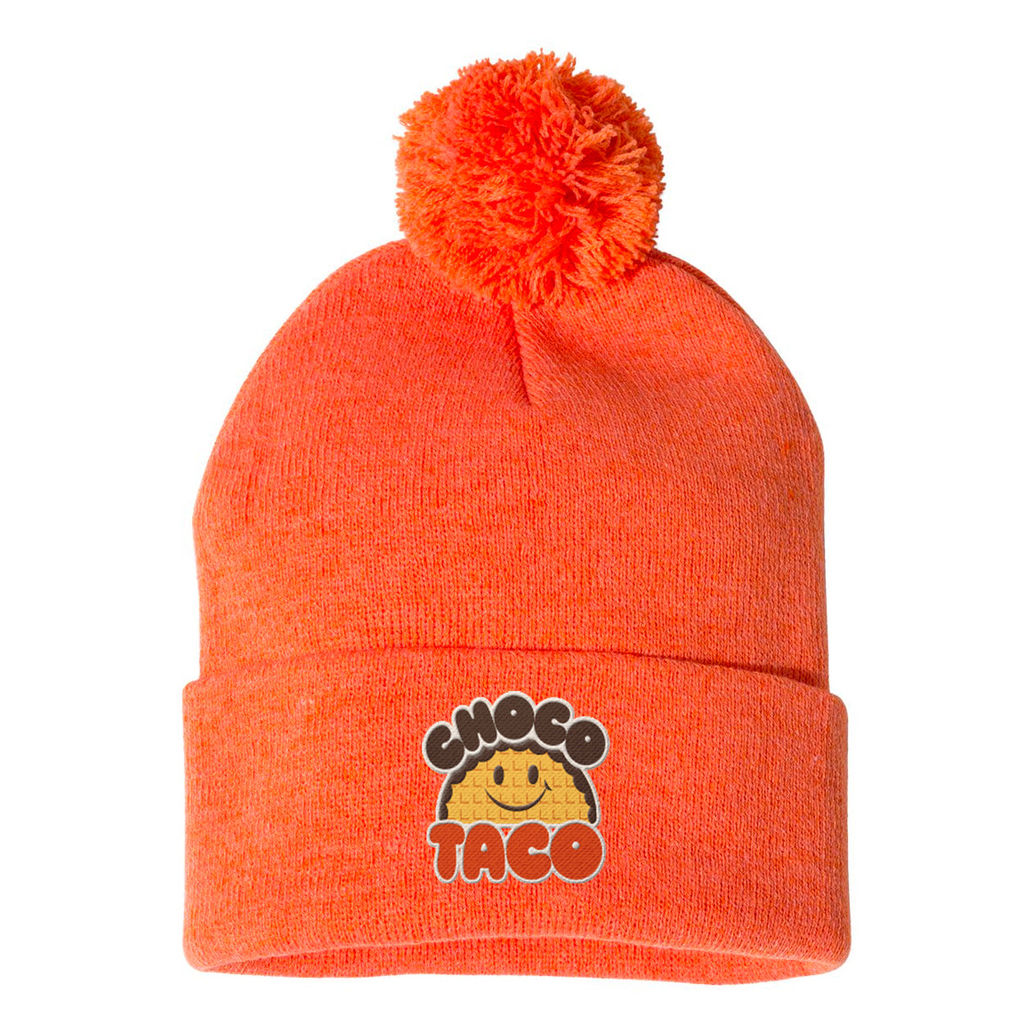 choco Orange Logo Beanie