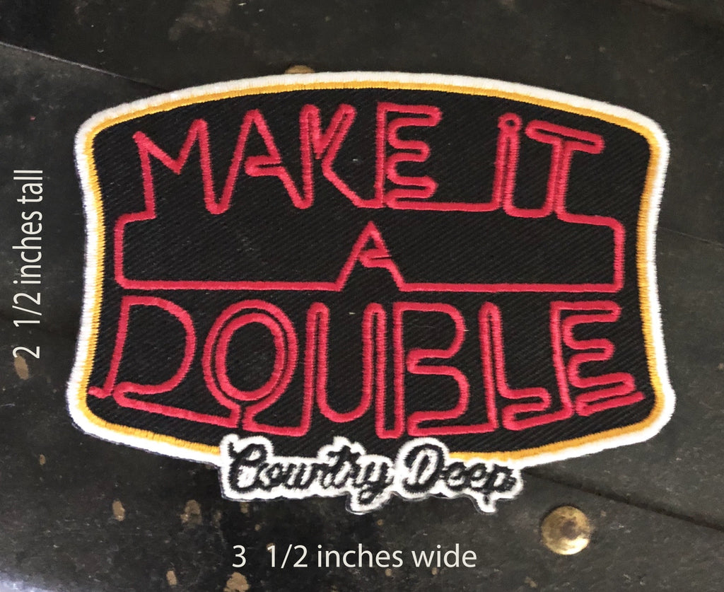 Make It A Double Patch